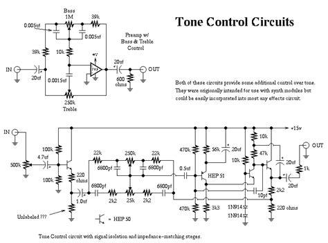 Tone Control For Multifx Board