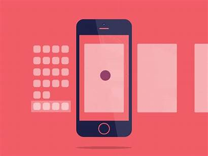 Ios Interaction Gestures Iphone Transitions Mobile App