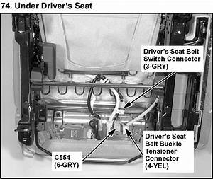 My Honda 2006 Crv Seat Belt Alarm Has Been Going Off For
