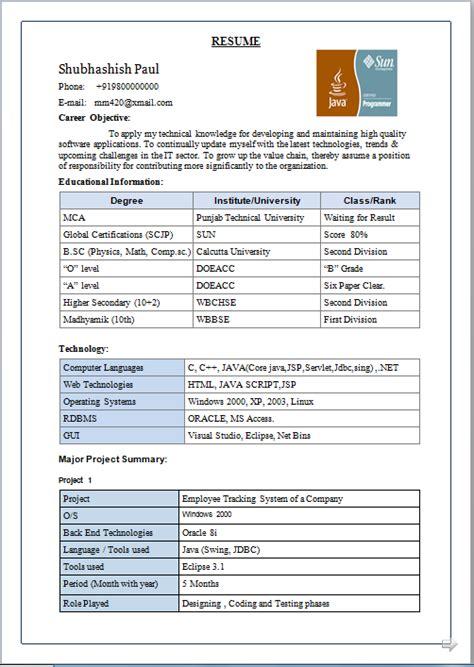 resume blog  beautiful resume sample  mca global