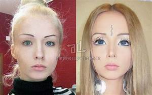 » The real face of human Barbie dolls |Before and After ...