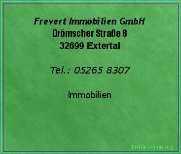 Immobilien Gmbh by Frevert Immobilien Gmbh In Extertal Immobilien Firma