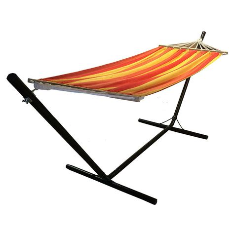 Hammock Metal Stand by New Redstone Luxury Hammock With Metal Stand In Town