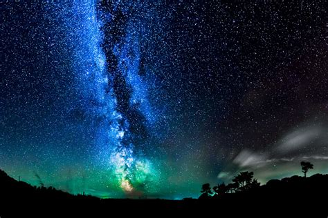 Photography Sky Landscape Galaxy Stars Night Sky My
