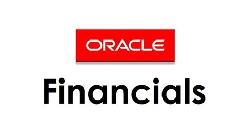 oracle financials oracle fusion financials solutions