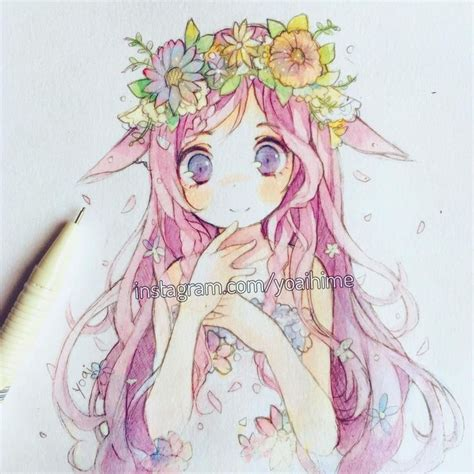 watercolor anime 1192 best drawing images on