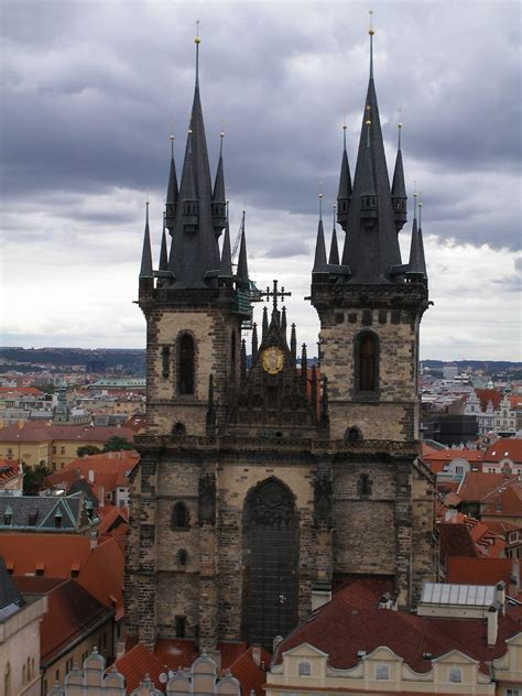 Tyn Church Prague Drawforme