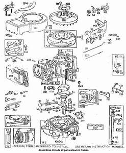 Briggs  U0026 Stratton Owners Parts Service Manual 3 Hp 3 5 Hp