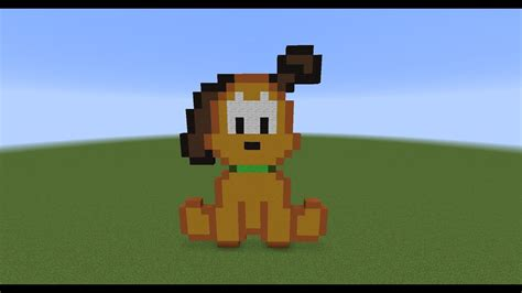 lets  pluto  dog pixel art youtube