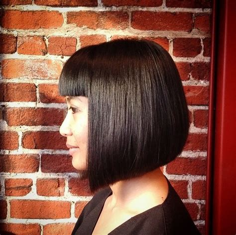 cute medium length bob hairstyles shoulder length