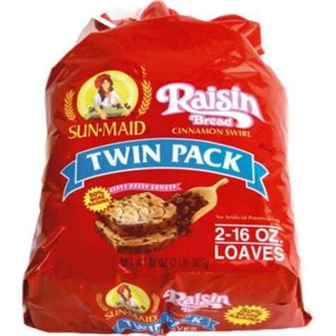 Sun-Maid Raisin Bread Cinnamon Swirl from Costco - Instacart