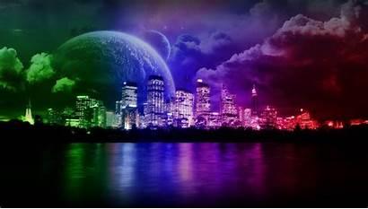Neon Purple Backgrounds Background Animated
