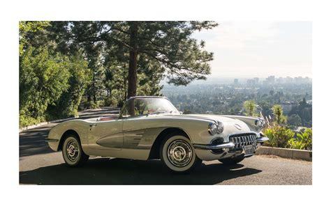 All Original 1960 Chevrolet Corvette C1 Dual Quad 4 Speed