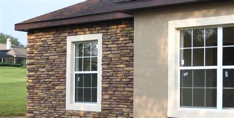 Fabricated Stone Window Accents  Ocala Stone Finish