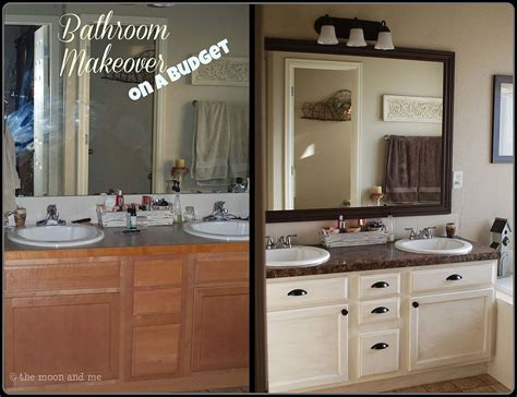 master bathroom ideas on a budget bathroom redo master mini makeover budget bathroom ideas