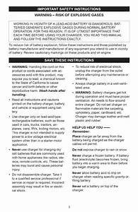 Page 3 Of Sears Battery Charger 200 71226 User Guide