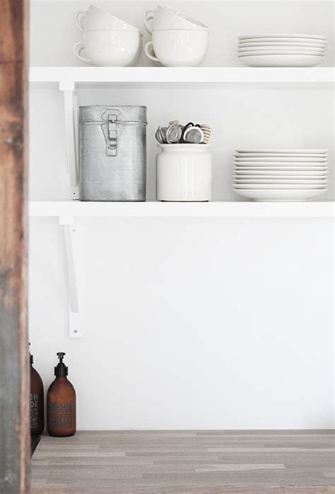 Open Kitchen Shelves Vs Closed Cabinets  The Style Files