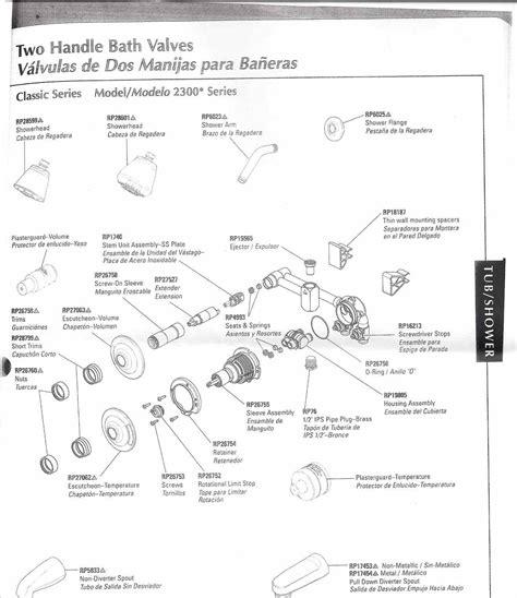moen posi temp valve price pfister kitchen faucet parts diagram