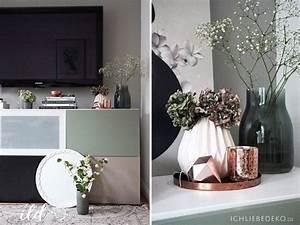 Rosa Deko Wohnzimmer : wandgestaltung mit alpina flur wohnzimmer im neuen look dekoration ~ Frokenaadalensverden.com Haus und Dekorationen