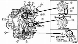 Timing Chain Diagram For 1995 Pontic 2 3 Litre