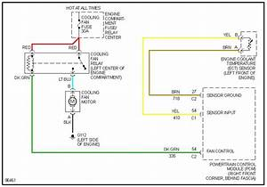 I Need A Engine Cooling Fan Power   Control Schematic For A