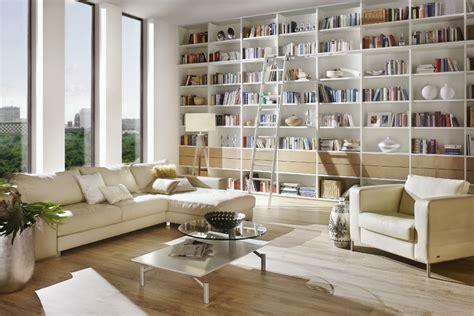 Bücherregal Leiter Schiene by Wohnzimmerm 246 Bel Nach Ma 223 Bibliothek Wohnwand Sideboard