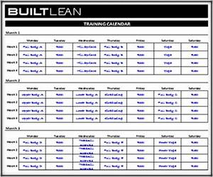 personal training program template - free workout log template that 39 s printable easy to use