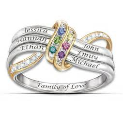 mothers day rings with birthstones sterling silver mothers rings 15 personalized rings