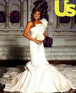 a closer look at monicas wedding dress group shot of With monica wedding dress