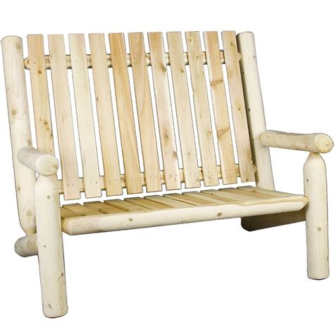 Outdoor Settee by High Back Settee In Outdoor Benches