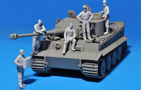 Miniart  35132 German Tank Crew (normandy 1944
