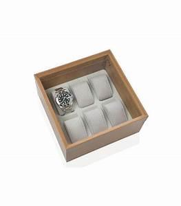 Coffret Rangement Montre : coffret de rangement pour montres en bois ~ Teatrodelosmanantiales.com Idées de Décoration