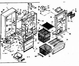 Kenmore 106629490 Upright Freezer Parts