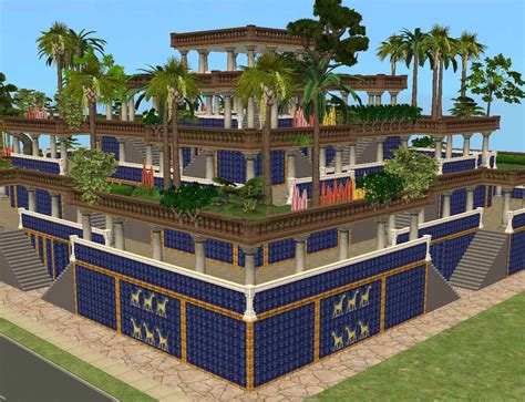 The Of Hanging by Mod The Sims Ancient World Wonders Hanging Gardens Of