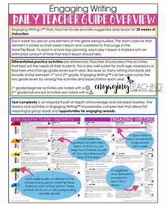 Engaging Writing Curriculum