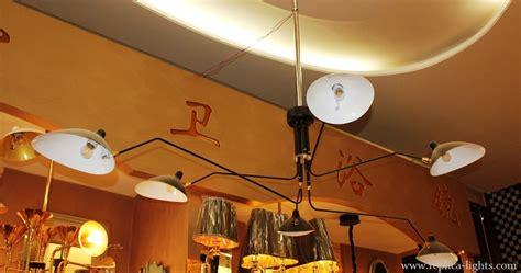 serge mouille chandelier replica serge mouille 6 arms chandelier black buy in