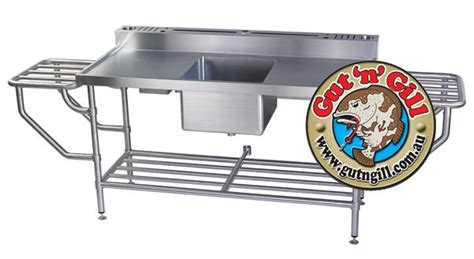 stainless fish cleaning table with sink fish cleaning table gifts for