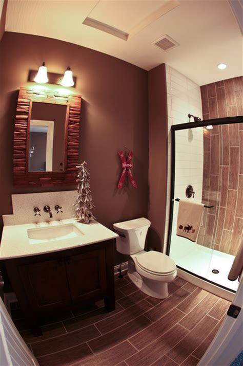 themed bathroom ski lodge themed bathroom rustic bathroom dublin