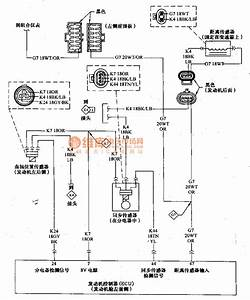 Beijing Cherokee 4 0l Engine Control System Sensor And