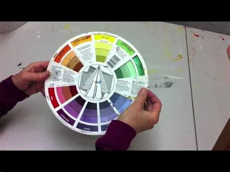 how to use the color wheel youtube