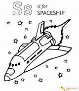 Spaceship Coloring Space Exploration Sheet Playinglearning sketch template