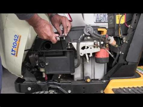 cub cadet lt  youtube