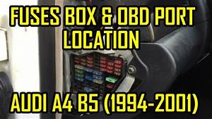 99 Audi A4 B5 Fuse Box