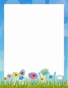 Page Borders – Free printable borders and clip art