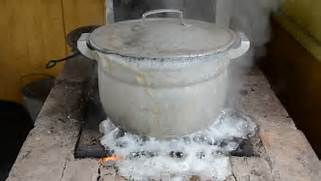 Boiling Pot Of Water W...