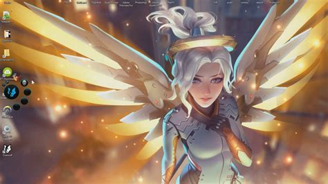 Animated Overwatch Wallpaper - overwatch mercy wallpaper widescreen 187 gamers wallpaper 1080p