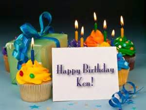 Happy Birthday Ken | My Blog