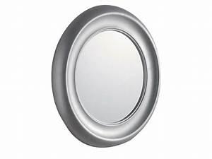 Miroir Rond Salle De Bain : miroir rond avec cadre pour salle de bain moon by gentry home ~ Nature-et-papiers.com Idées de Décoration