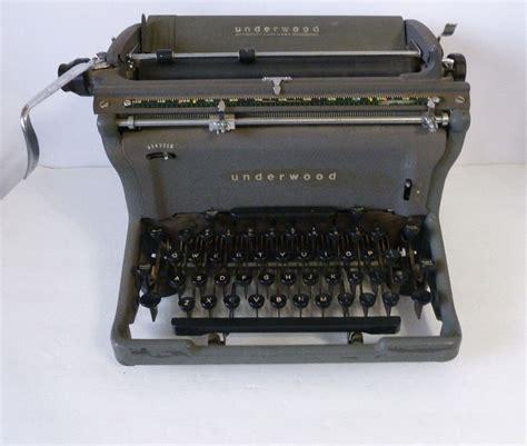 Vintage L Value by Antique Underwood Typewriter Ebay