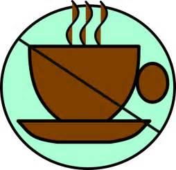 No Coffee Clip Art